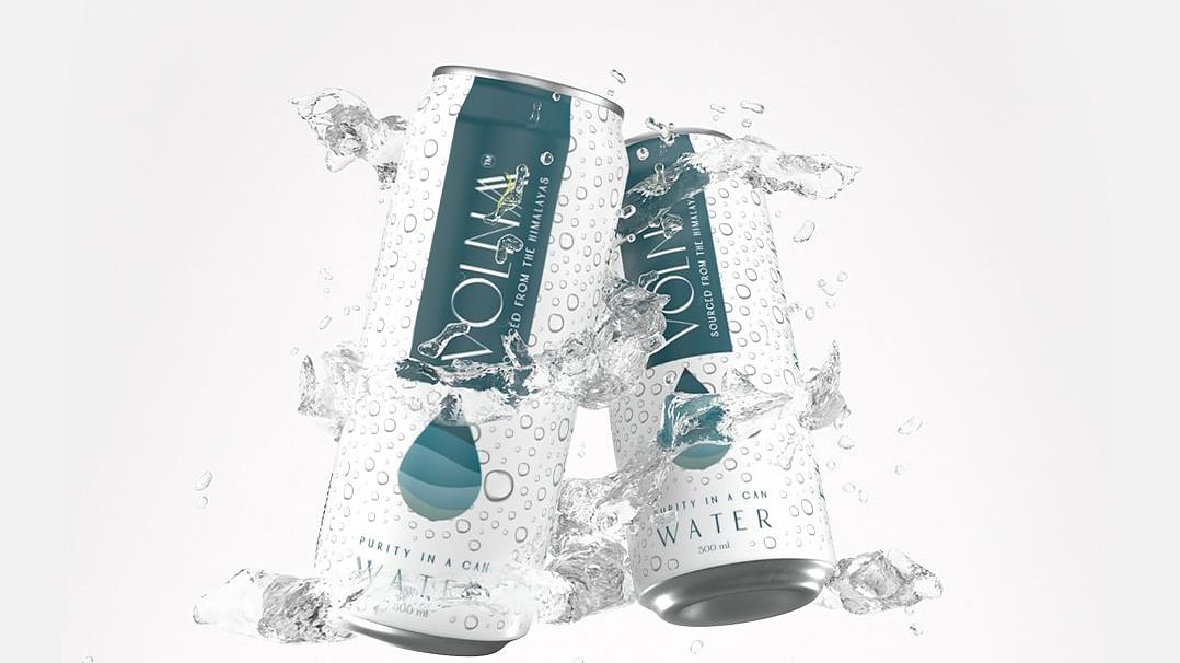 Volnaa launches mineral water in Aluminum cans