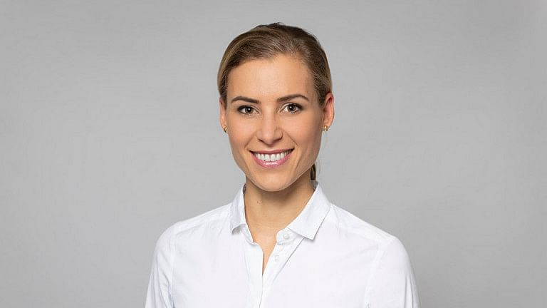 Dr Silke Blumer is in a new role at Syntegon
