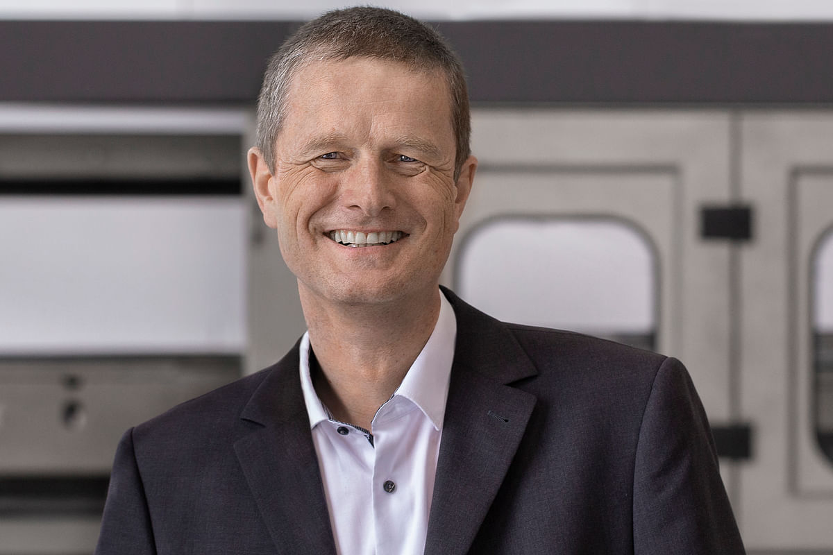 Kai Acker, chief executive officer of the KHS Group