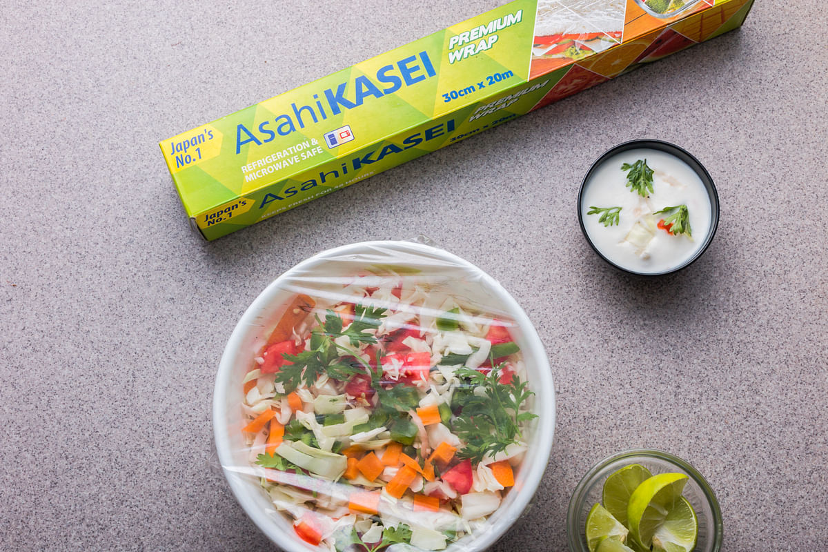 New age cling films help to keep food fresh & safe for longer