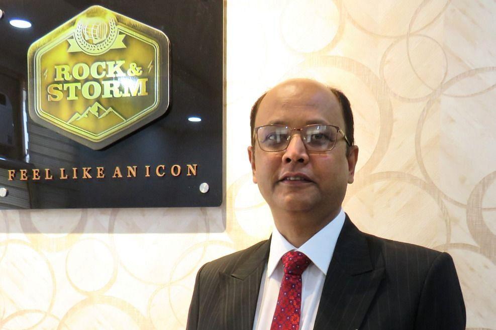 Ashu Ratan Khare, director, Rock and Storm Distilleries