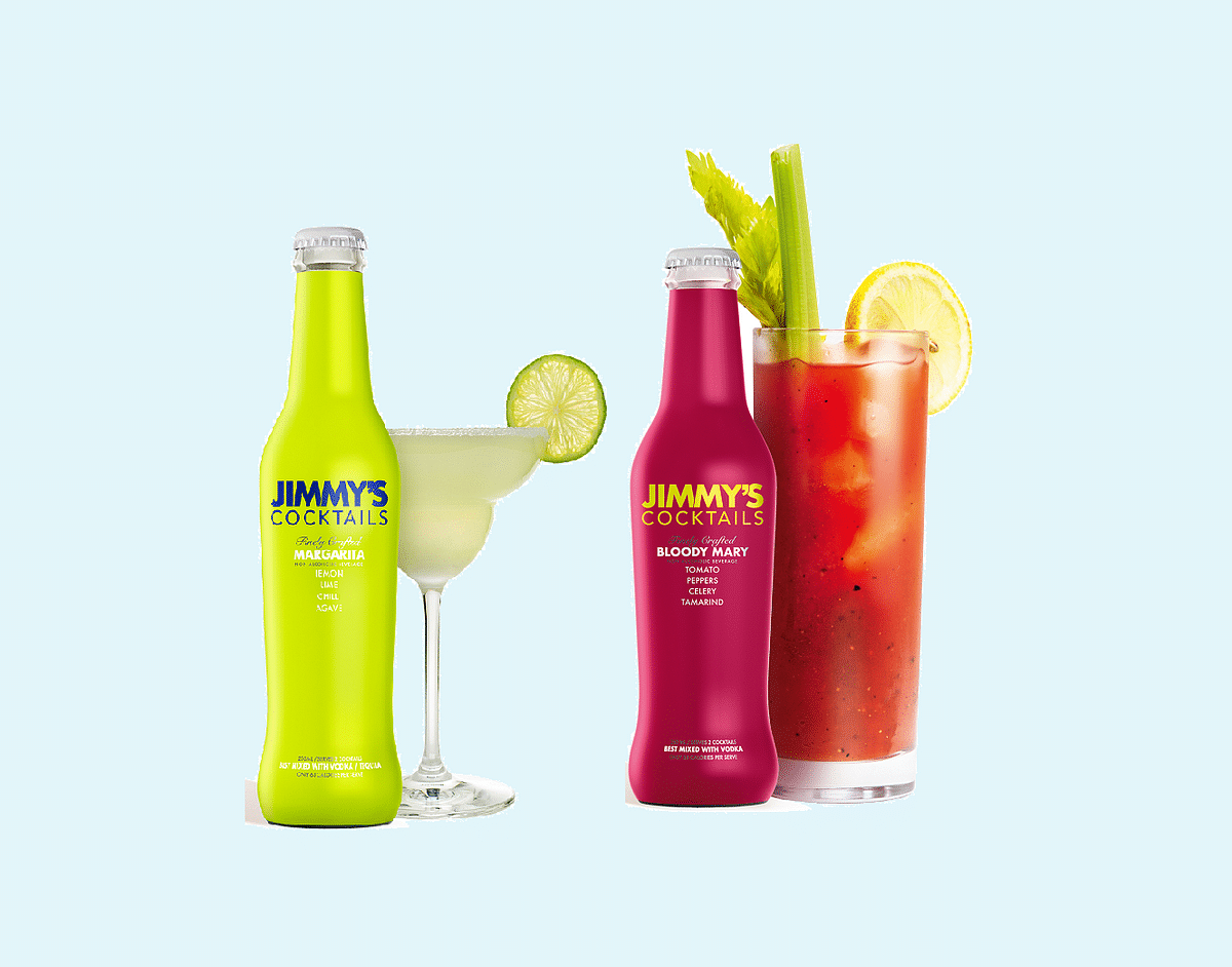 Jimmy's Cocktails introduces Margarita and Bloody Mary as new variants