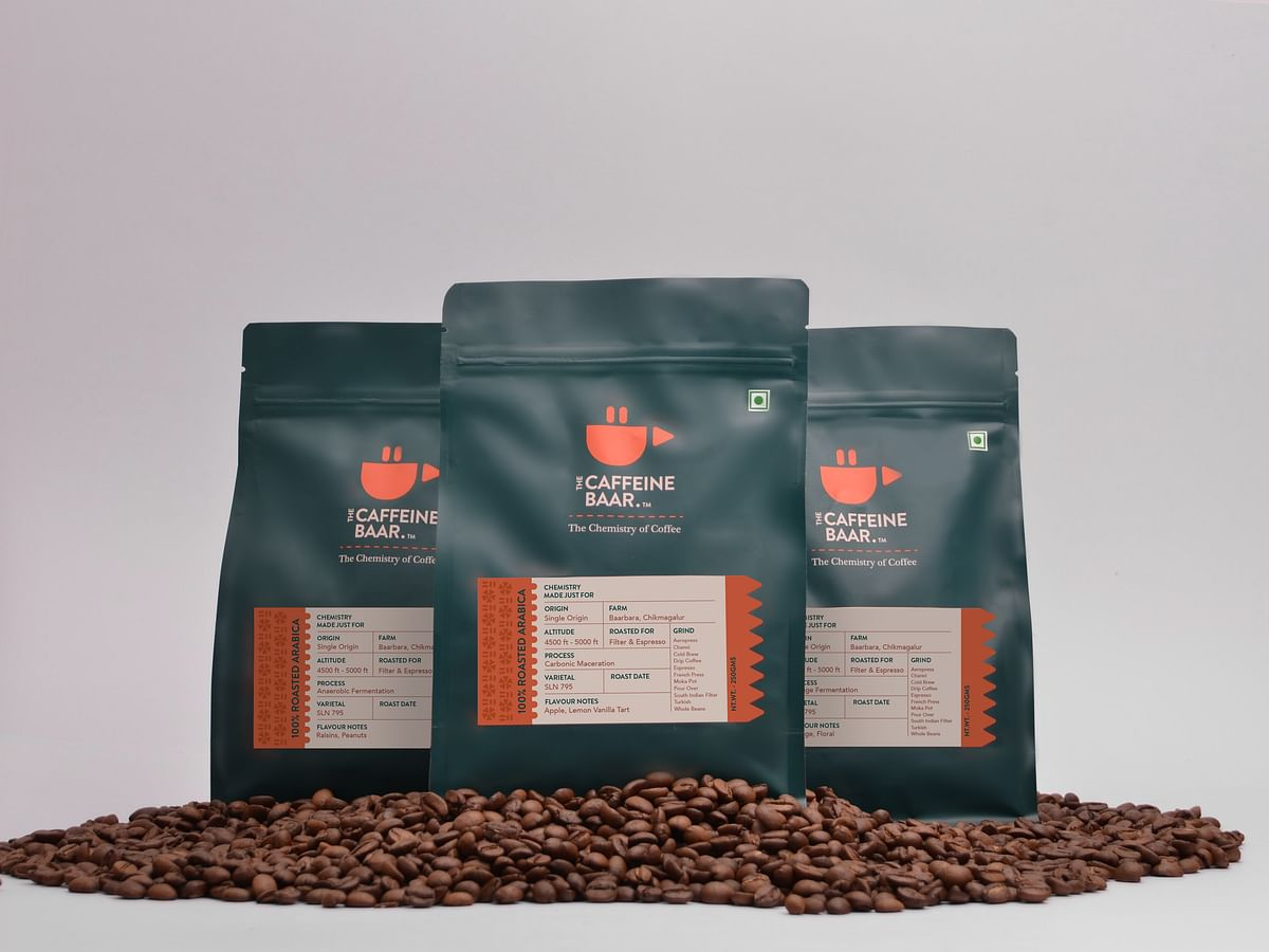 The Caffeine Baar launches 'Elements 2021' collection of packaged specialty coffee beans