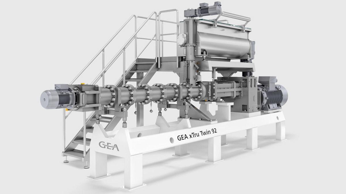 GEA launches xTru Twin 140 extruder