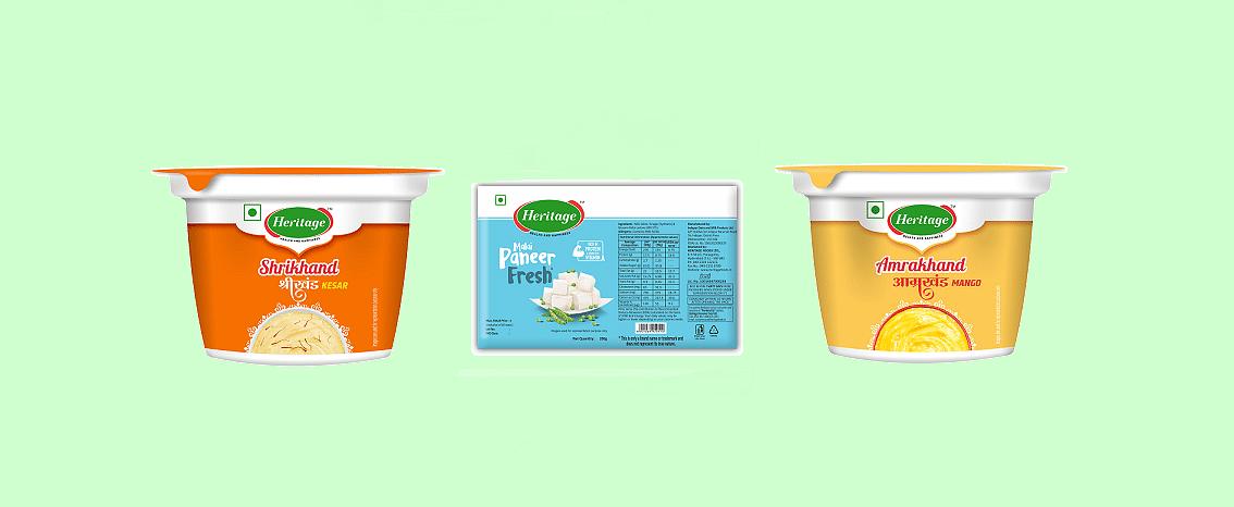 Heritage Foods introduces Shrikhand, Amrakhand & Malai Paneer