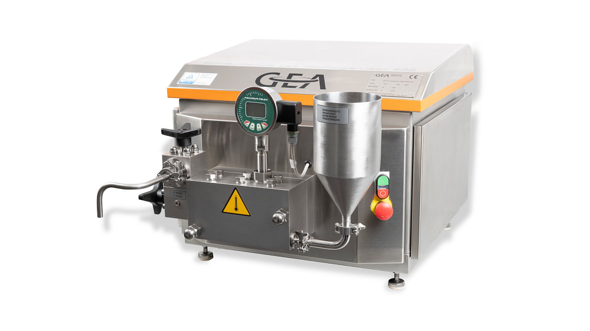 """<div class=""""paragraphs""""><p>The new GEA TriplexPanda is a three-piston tabletop unit for the treatment of nanoparticles, nanodispersions and nanoemulsions.</p></div>"""