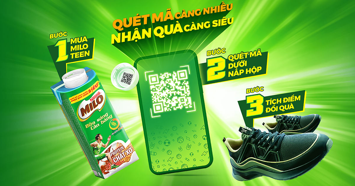 Nestlé Vietnam opts for SIG's 'One Cap, One Code' to engage with Gen Z