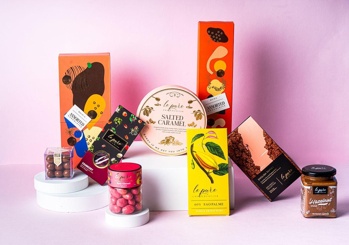 This Raksha Bandhan gift your sibling sweet somethings from Le Pure Chocolatier