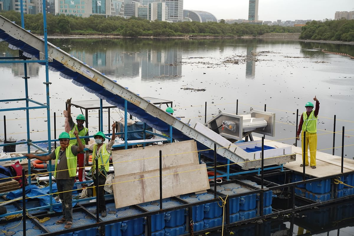 Huhtamaki, RiverRecycle & VTT partner to develop technology to tackle floating river waste