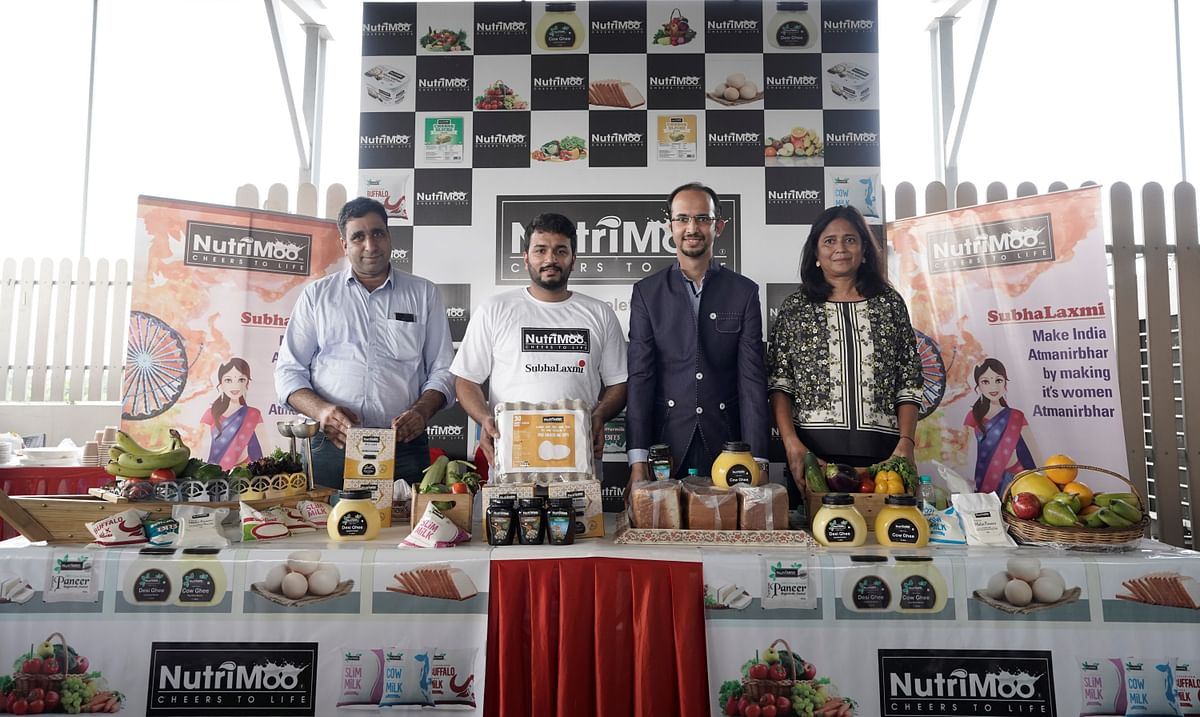 Dairy Tech startup NutriMoo ties up with SubhaLaxmi Program