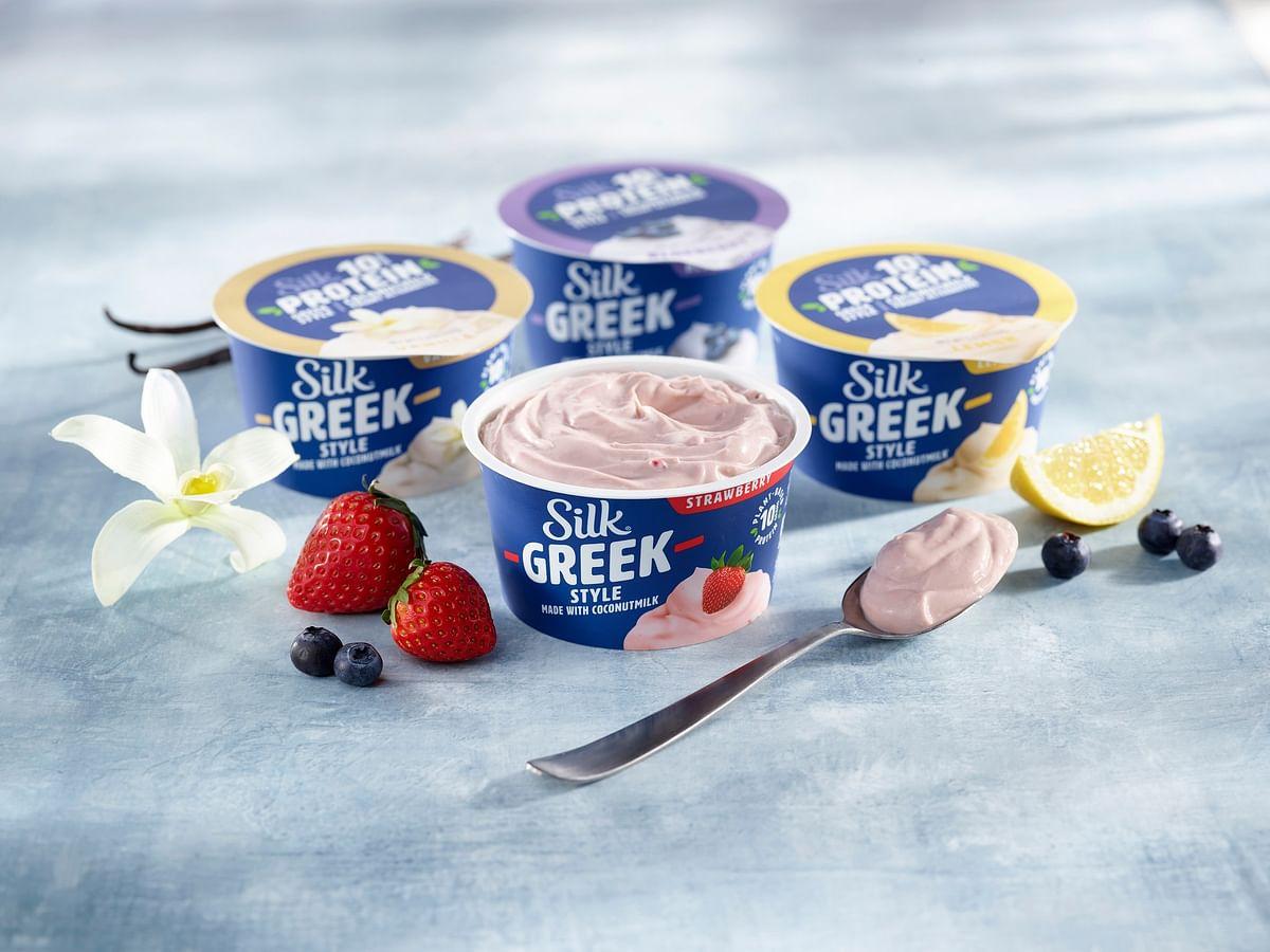 Danone introduces Silk Greek style coconut milk yogurt alternatives