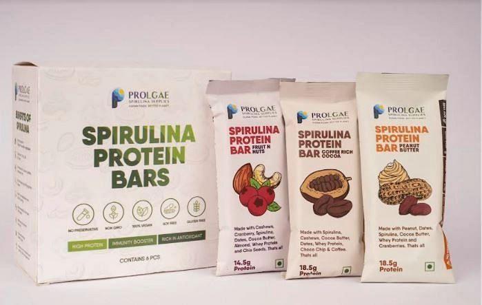 Prolgae launches sweet spirulina powder and protein bar in Chennai