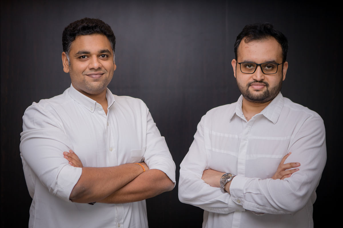Co-founders Prateek Mittal (Left) and Rajas Dhote (Right)