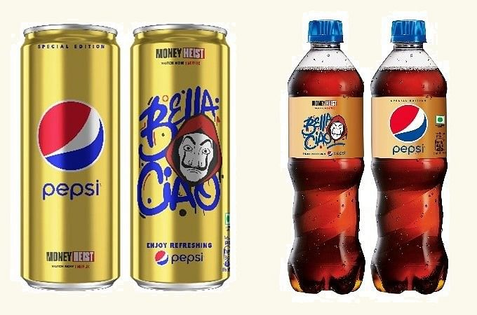 Pepsi launches limited-edition golden cans & packs