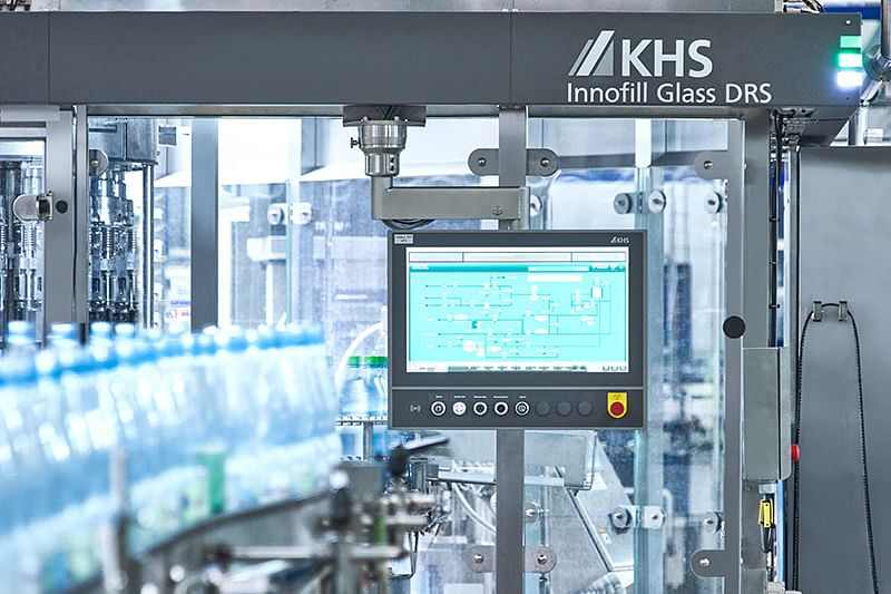 """<div class=""""paragraphs""""><p>The Innofill Glass DRS's high standard of hygiene was just one feature that had the mineral water bottling plant convinced. This is facilitated by the machine's rotary design, installation of the motors in the frame and the automatic CIP caps.</p></div>"""