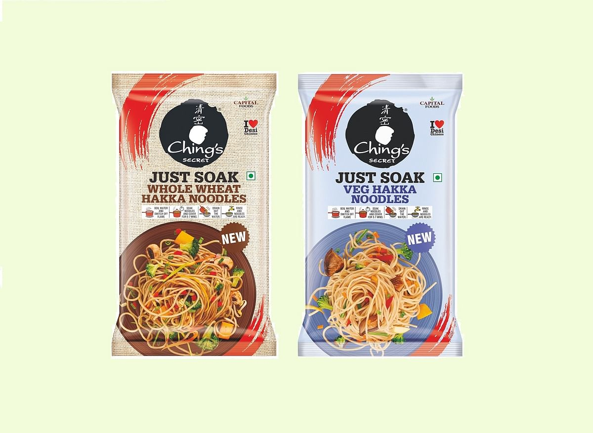 Capital Foods introduces a new range of Ching's Just Soak Hakka Noodles!