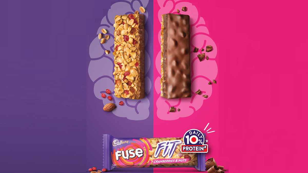 Mondelez India marks its entry into the snack bar category with Cadbury Fuse Fit