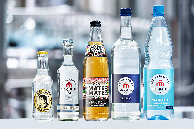 Bad Meinberger mineral water bottling plant relies on technology & expertise from KHS