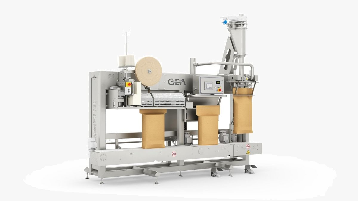 GEA SmartFil M1 – New powder packaging system for dairies, food & pet food producers