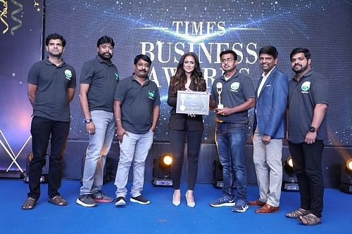 OrgFarm receives award for 'The Fastest Growing Online Organic Superstore in Chennai'