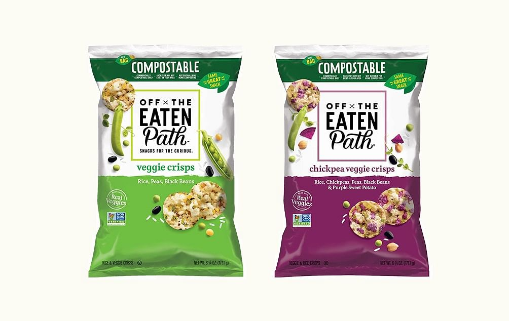 Frito-Lay launches industrially compostable bags with Off The Eaten Path brand