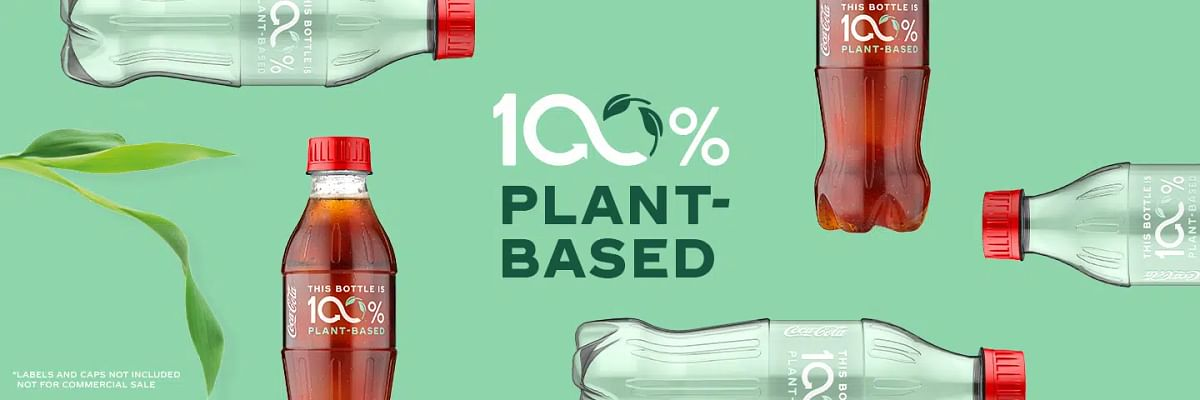 Coca-Cola unveils new prototype bottle made from 100% plant-based sources