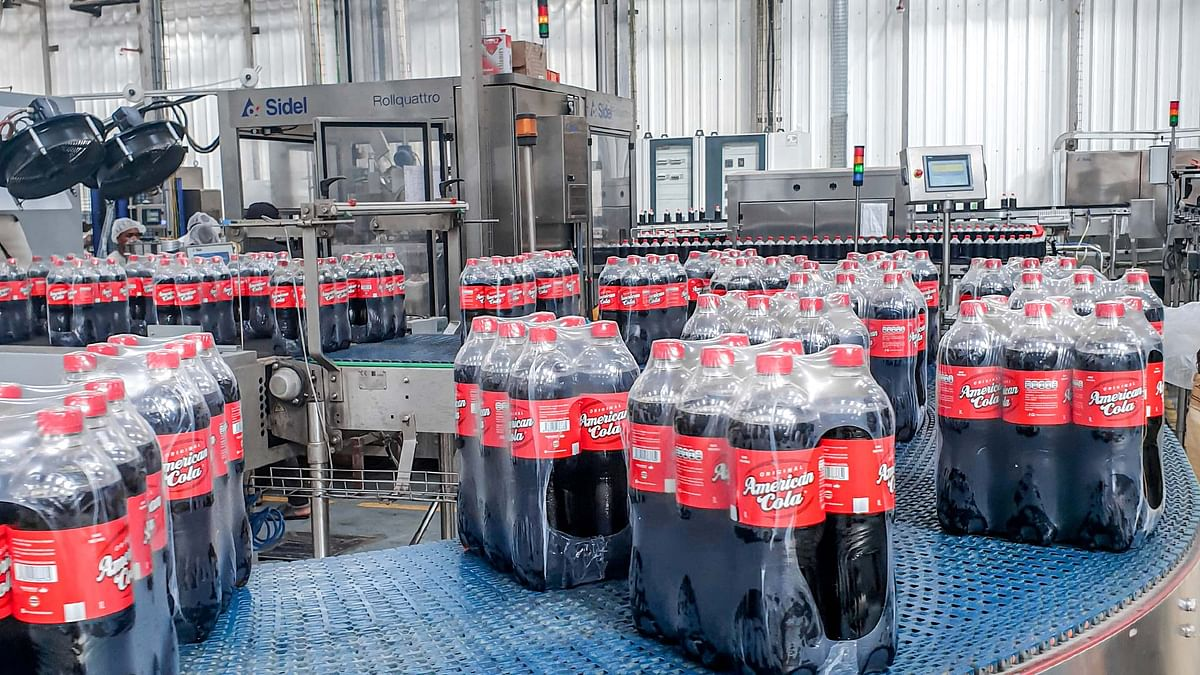 Sidel remote services help the rapid launch of a new 1L bottle on a Guinean line