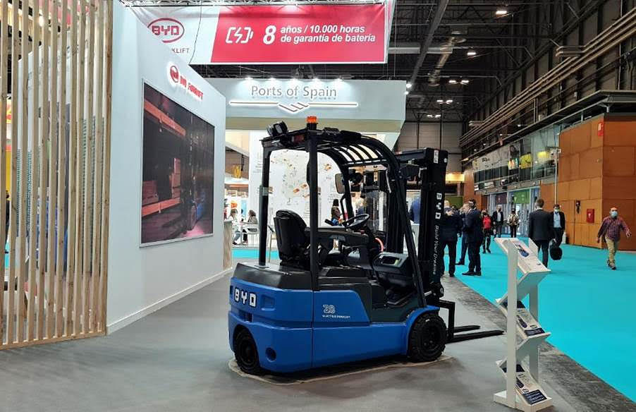 """<div class=""""paragraphs""""><p>The New BYD ECB20S 3-Wheel Counterbalance</p></div>"""