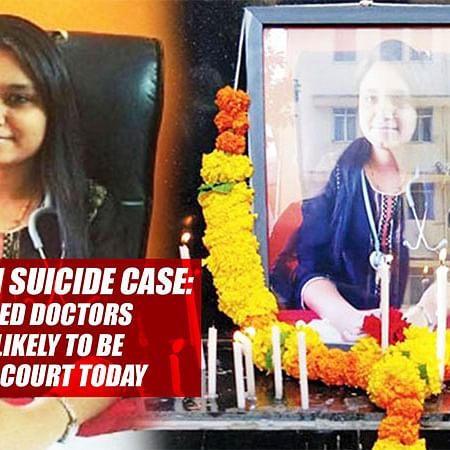 Dr Payal Tadvi SUICIDE CASE: All 3 Accused Doctors Arrested, Likely To Be Produced In Court Today