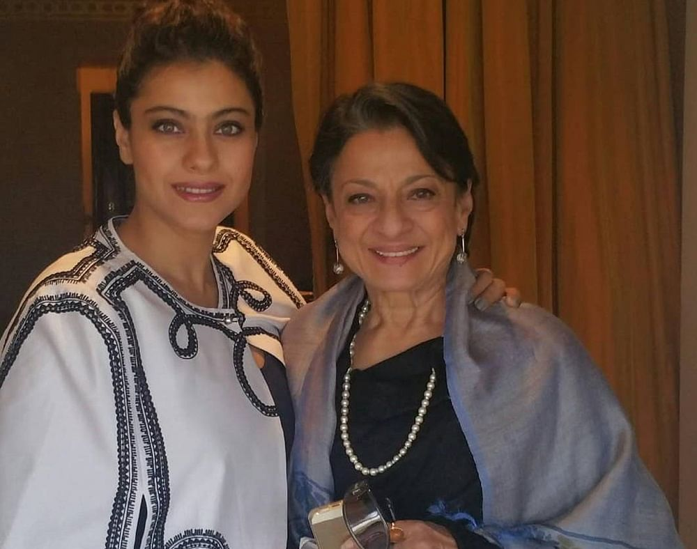 Kajol's mother Tanuja Mukherjee undergoes surgery, to be in hospital for a week
