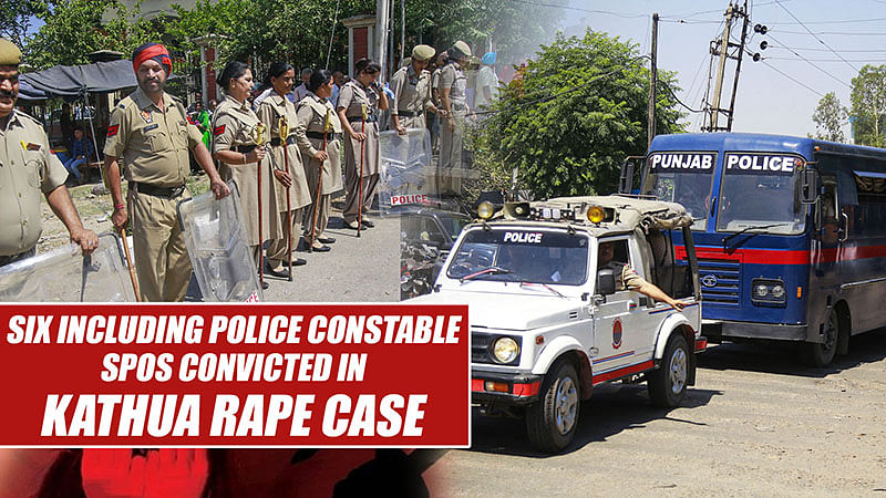 Six Including Police Constable, SPOs Convicted In Kathua Rape Case