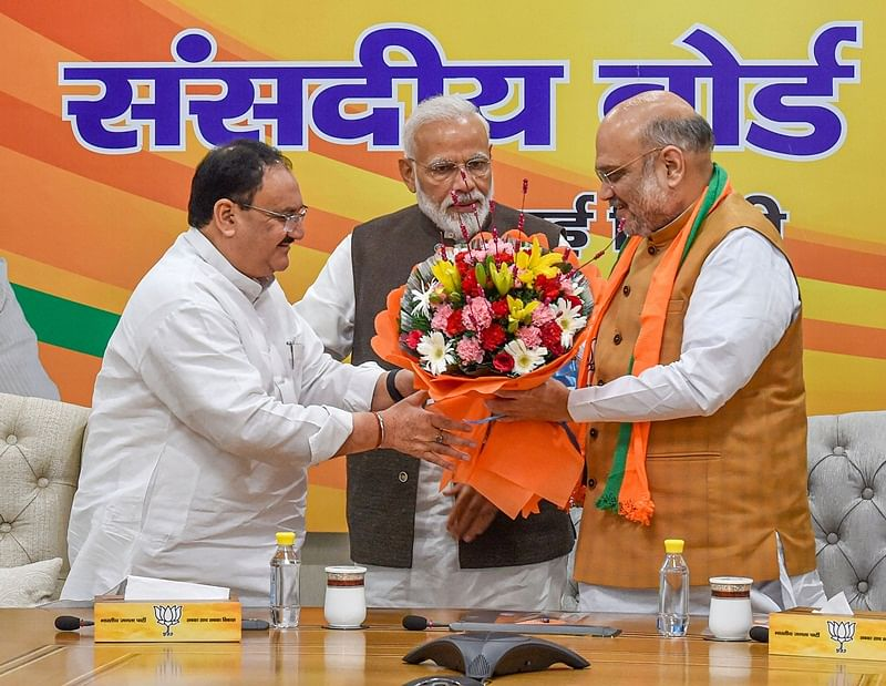 Rise of JP Nadda: BJP leaders hail new party President for his 'simplicity'