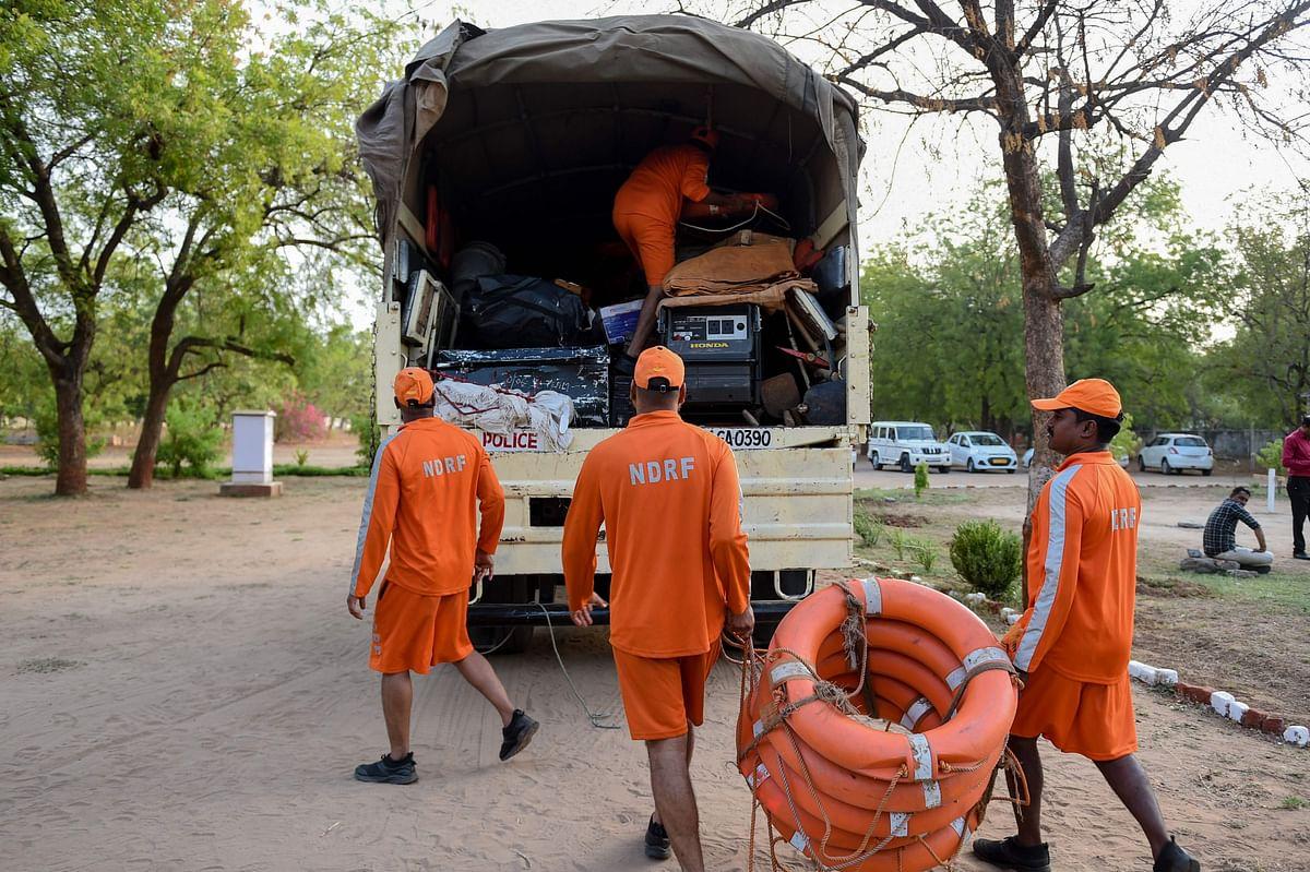 Cyclone Vayu: 65 evacuated from Diu, Gujarat by NDRF