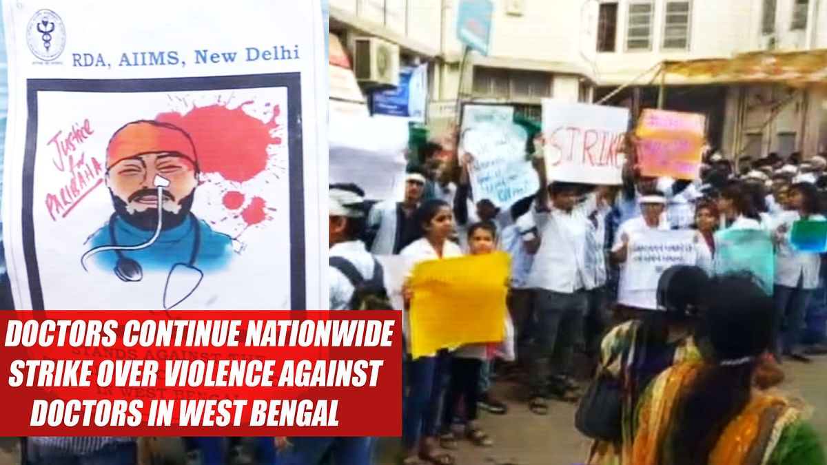 Doctors Continue Nationwide Strike Over Violence Against Doctors In West Bengal