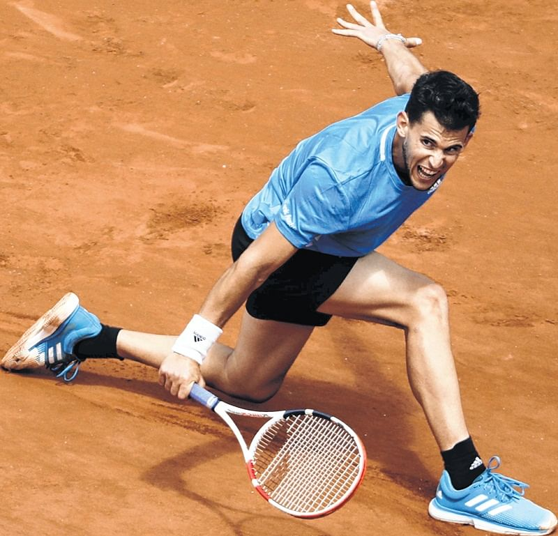 Thiem ends Novak Djokovic's Grand run