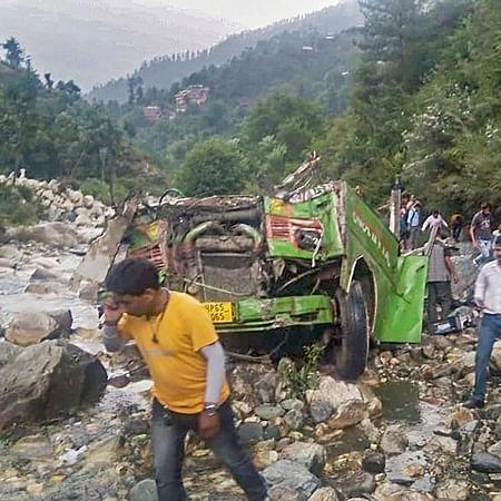 Kullu bus accident: Death toll rises to 44, CM Jai Ram Thakur to visit site today