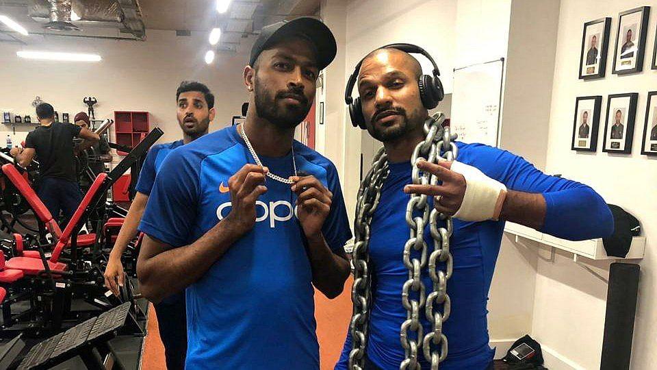 World Cup 2019: Bhuvneshwar Kumar photo-bombs Shikhar Dhawan, Hardik Pandya; Twitter hilariously reacts to it