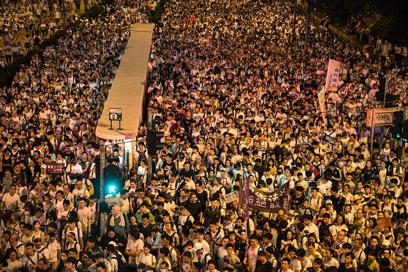 Extradition Bill: Thousands take to streets in Hong Kong