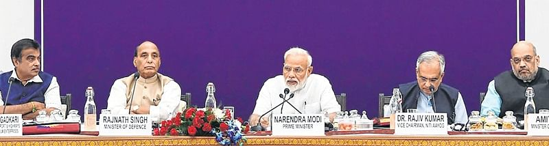 PM Narendra Modi's call to states for collective fight
