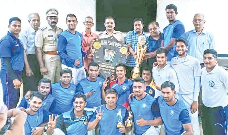 Mumbai Police Gymkhana win shield championship