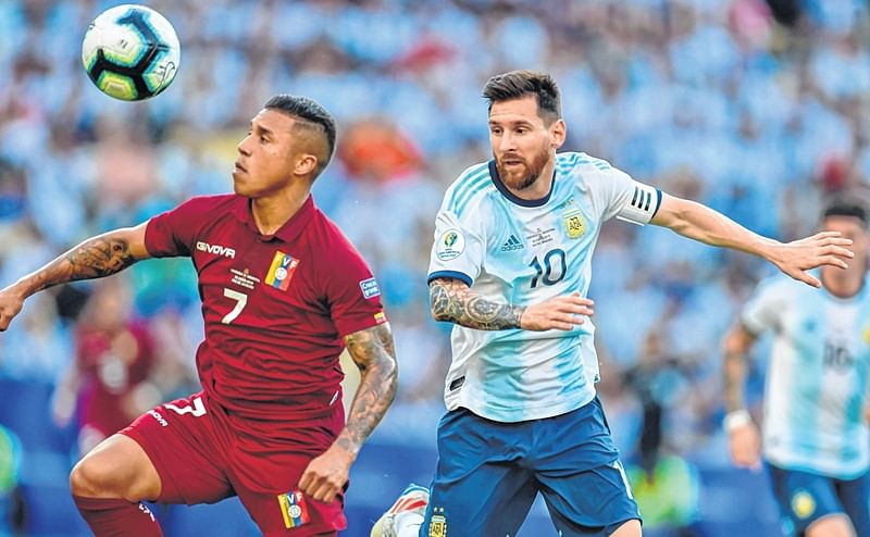 Argentina's date with Brazil