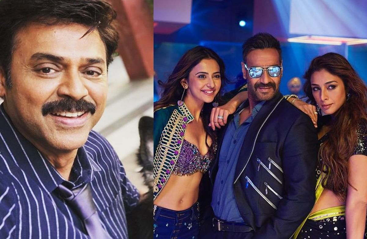 Venkatesh to star in Telugu remake of Ajay Devgn's 'De De Pyaar De'
