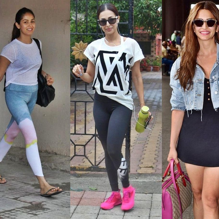 Celebrity Spotting: Malaika Arora, Mira Kapoor, Tara Sutaria