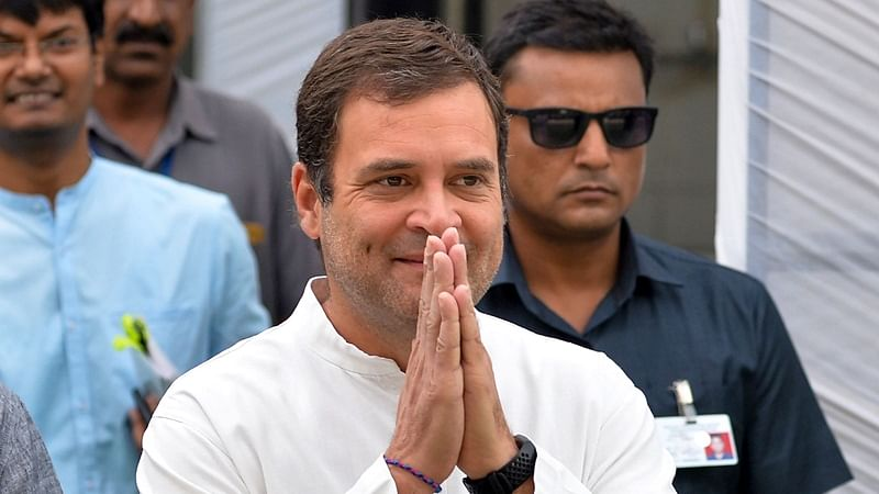 Rahul Gandhi replies to PM Narendra Modi's birthday wish, shares laddoos with journalists