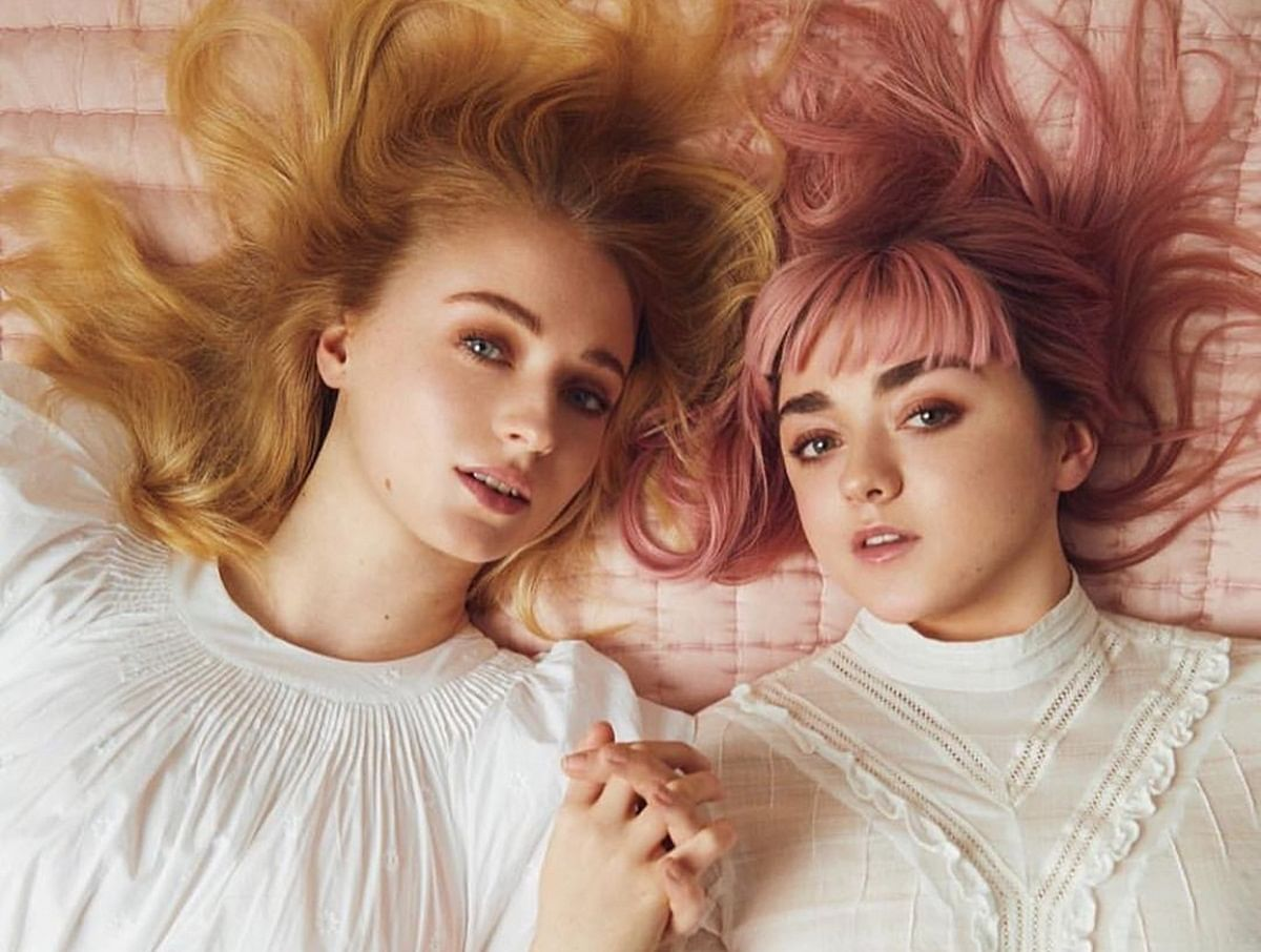 Sophie Turner celebrates post marriage bachelorette party with Maisie Williams