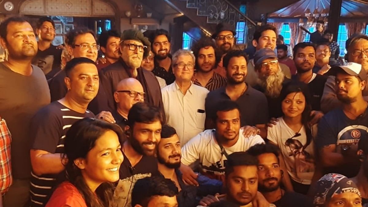 Amitabh Bachchan delivers 14-minute take in one shot for 'Chehre'