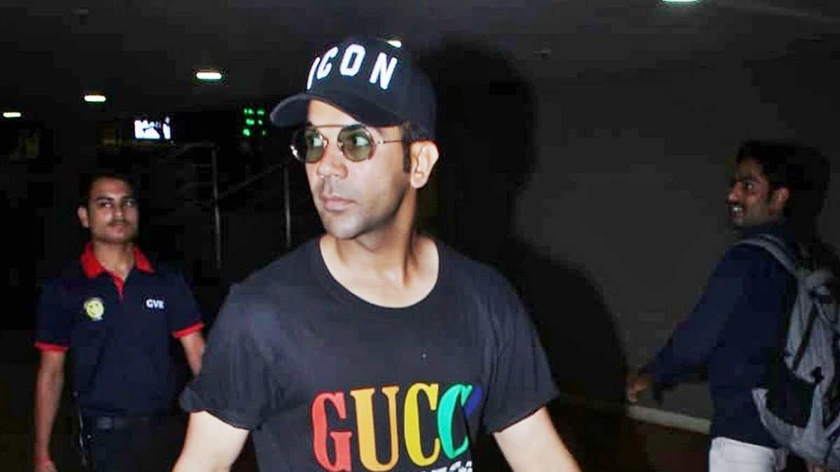 Cost of Rajkummar Rao's cap can buy you a Washing Machine!