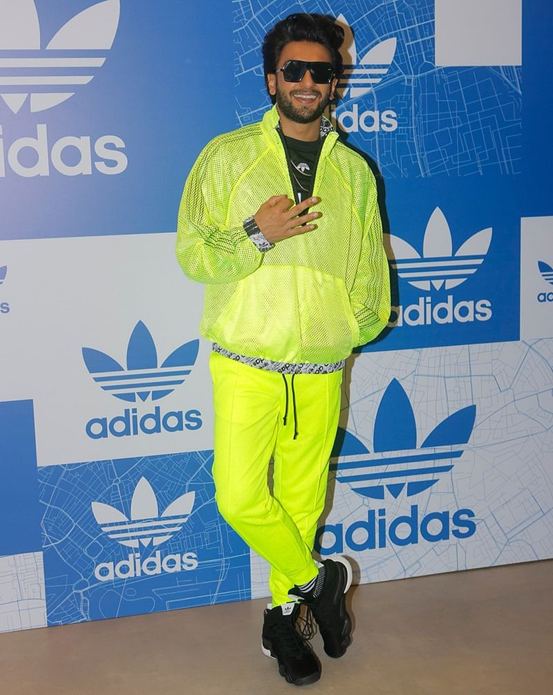 How to wear neon and shine without going overboard