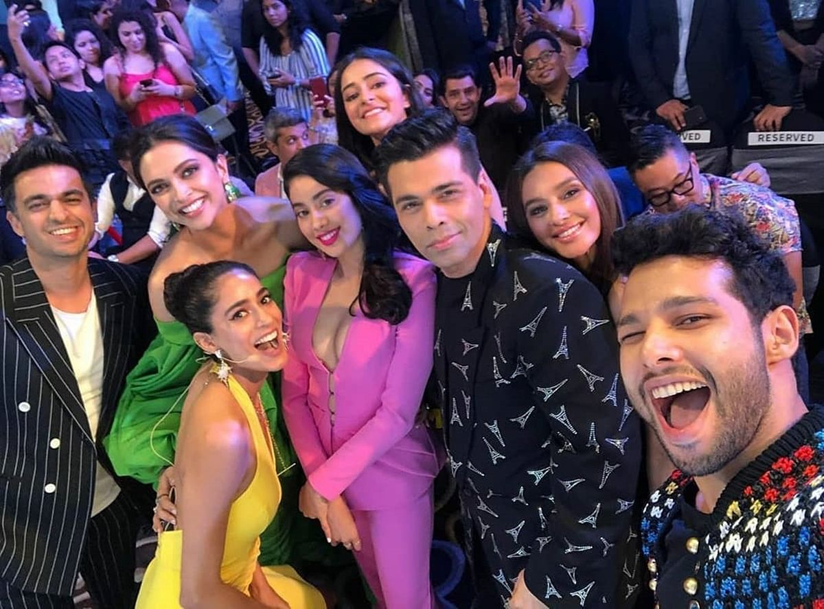 Blockbuster Selfie! Deepika Padukone, Janhvi Kapoor, Siddhant Chaturvedi among others in one frame