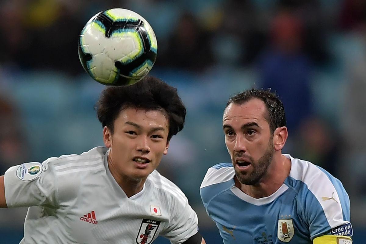 Copa America: Uruguay settle for 2-2 draw against Japan